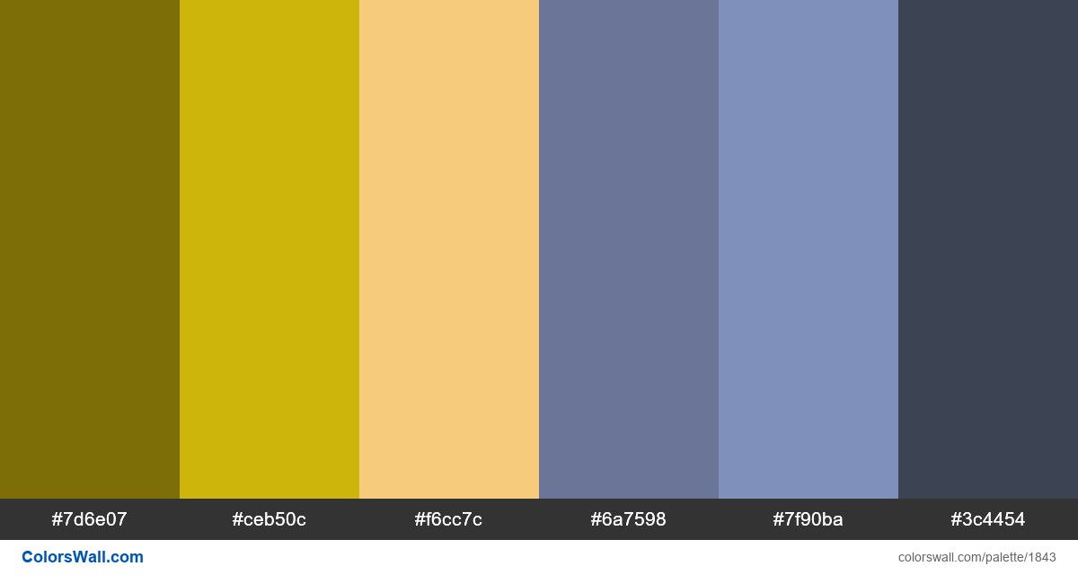 Dashboard app colors palette - #1843