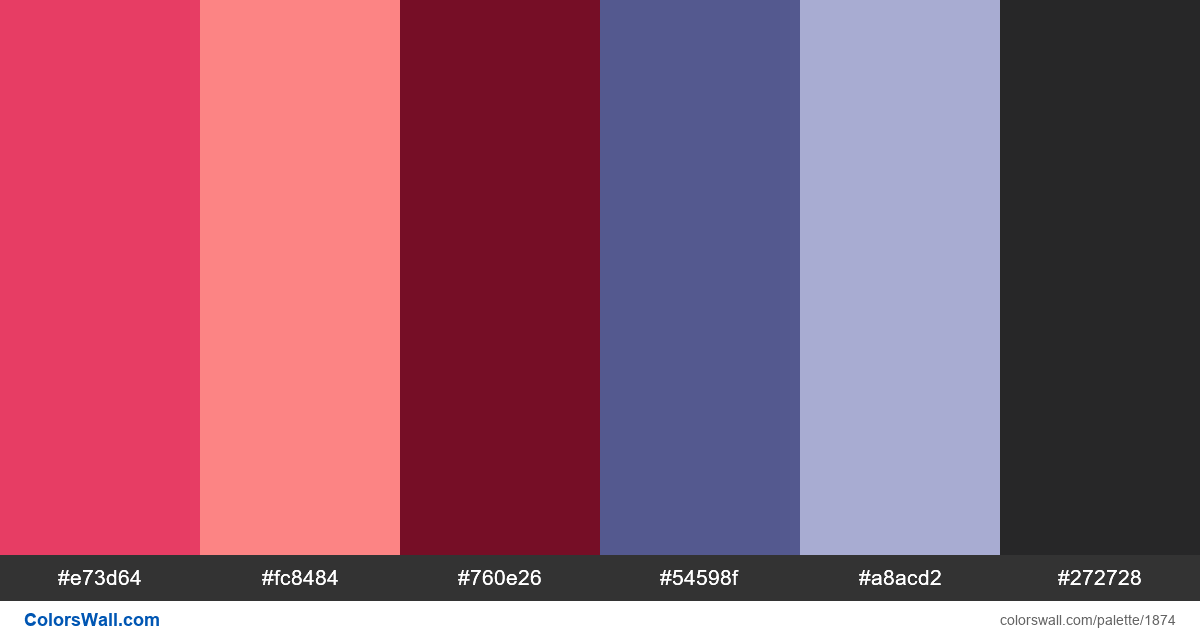Dashboard Ui Colors Palette Hex Rgb Codes