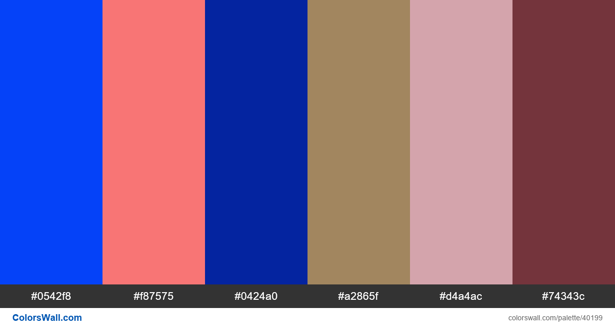 Debut illustration colors geometry palette - #40199