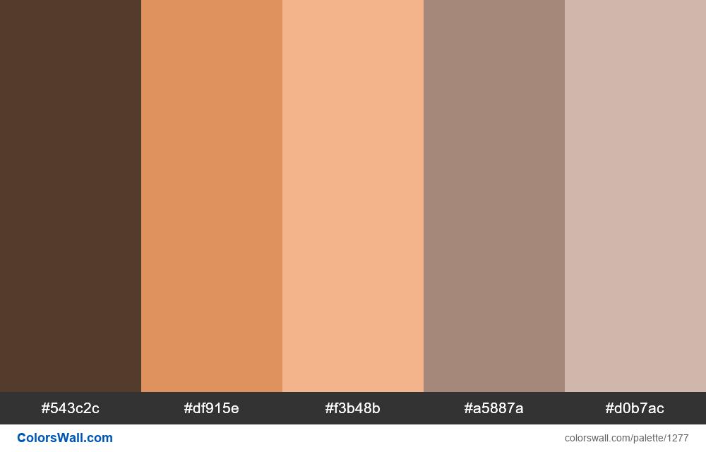 Desert color palette - #1277