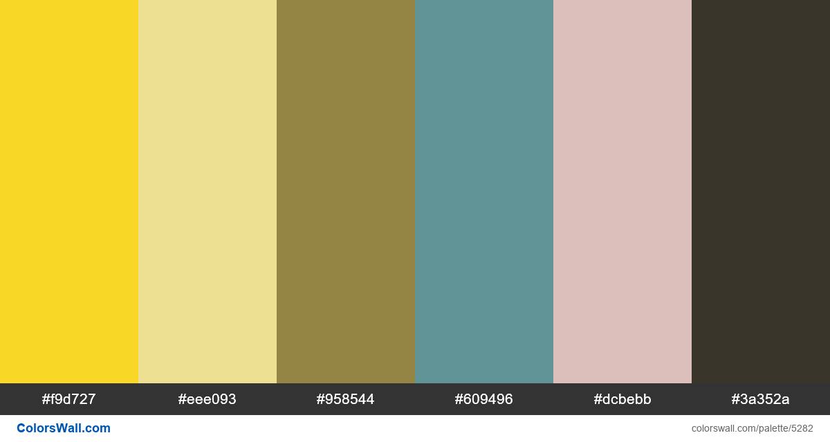 Design bets web colors palette - #5282