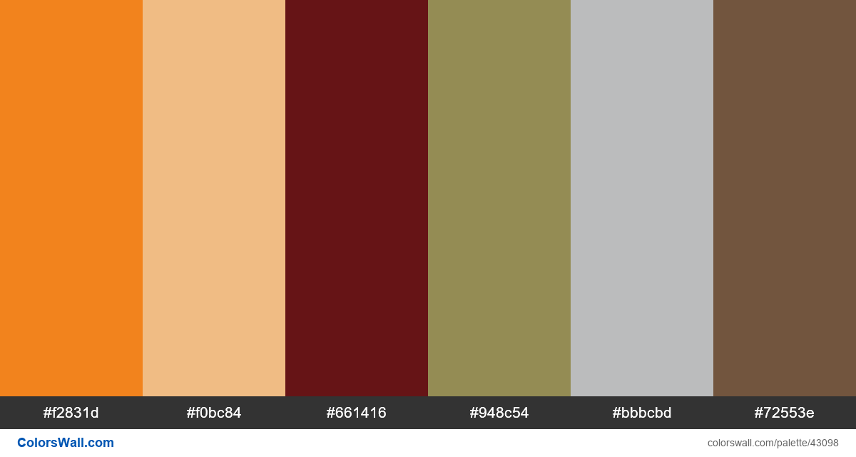 Design classic uidesign rock hex colors - #43098