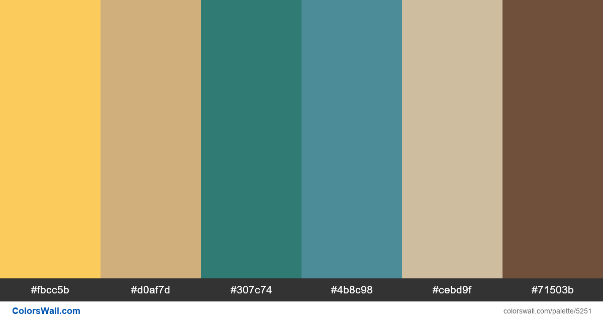 Design landingpage shop colors palette - #5251