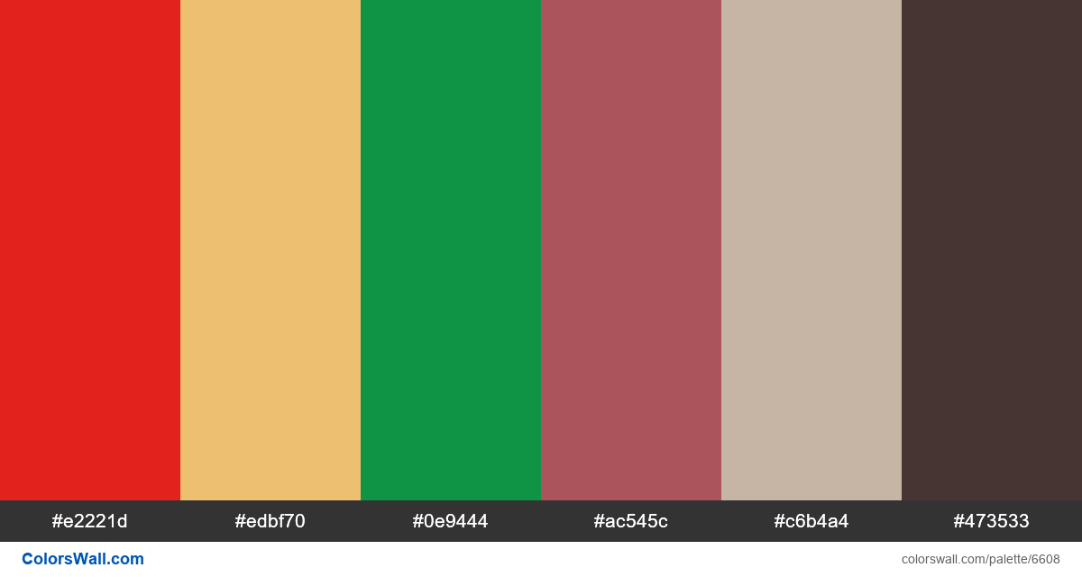 Design ux site colors palette - #6608