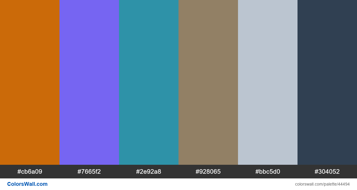 Destination booking cards mobile colors palette - #44494