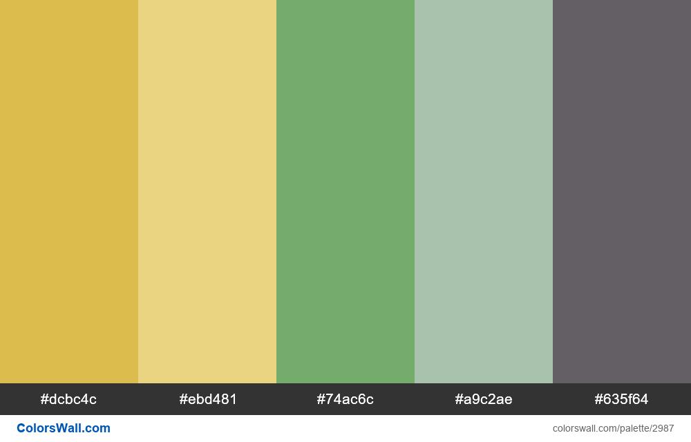 Diagram colors palette - #2987