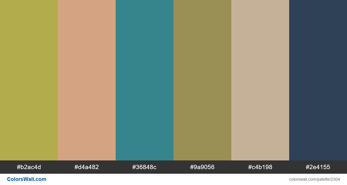 Dinosaurs colors scheme - #2304