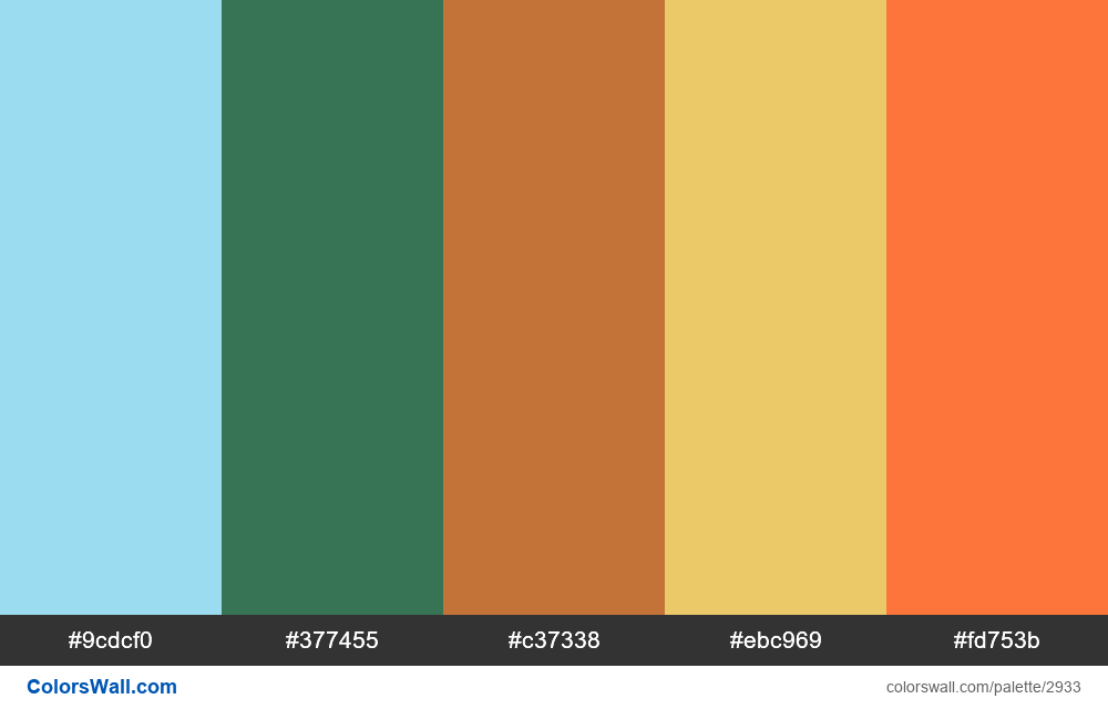Dragon colors palette - #2933