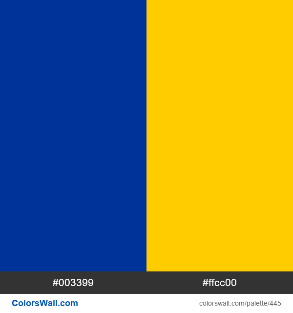 Europe flag colors - #445