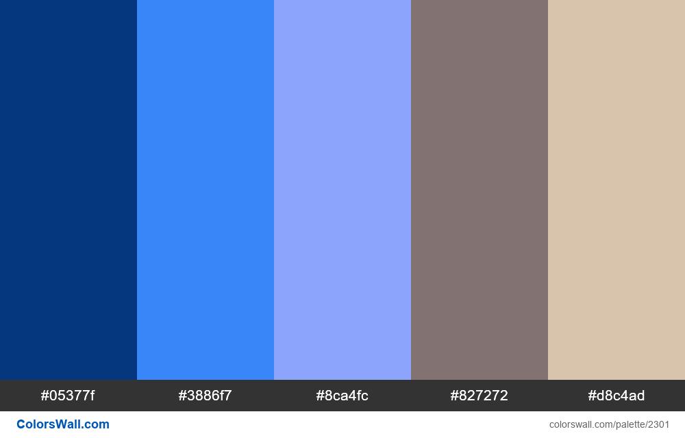 Finance app colors scheme - #2301