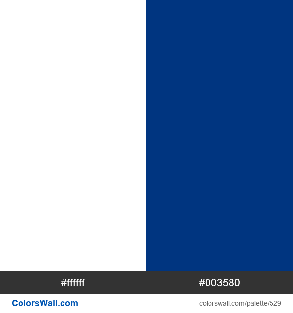 Finland flag colors - #529