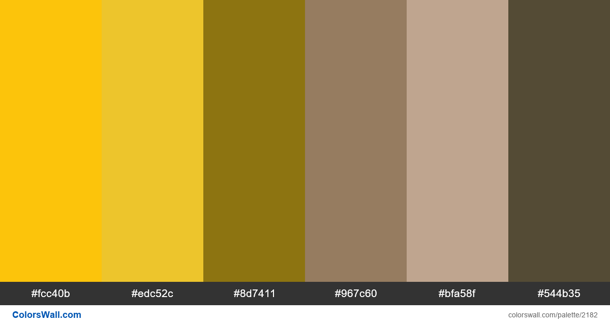 Forms 2018 colors palette - #2182