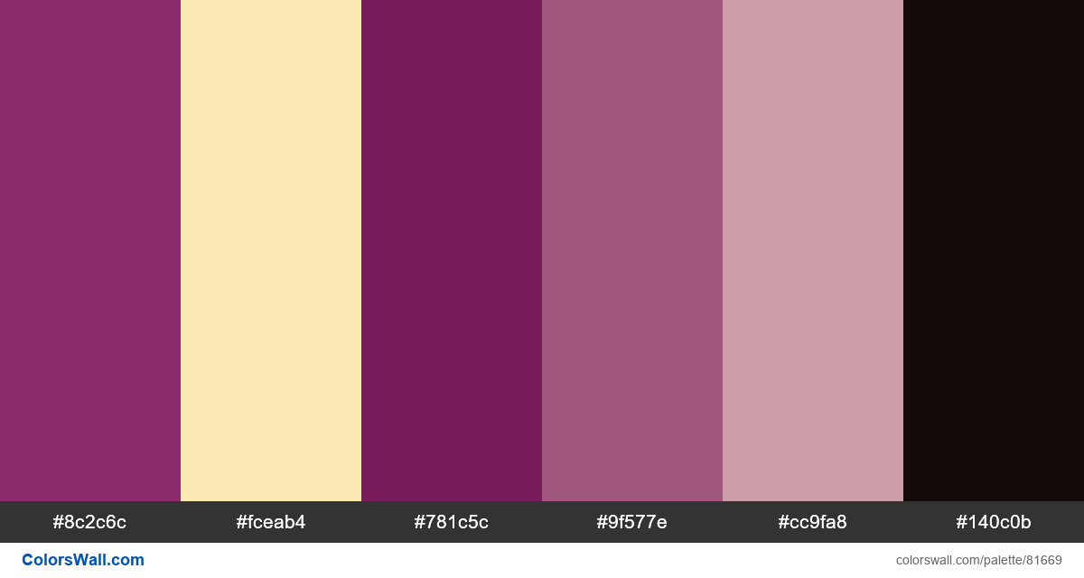 Free vector print illustration colors palette - #81669