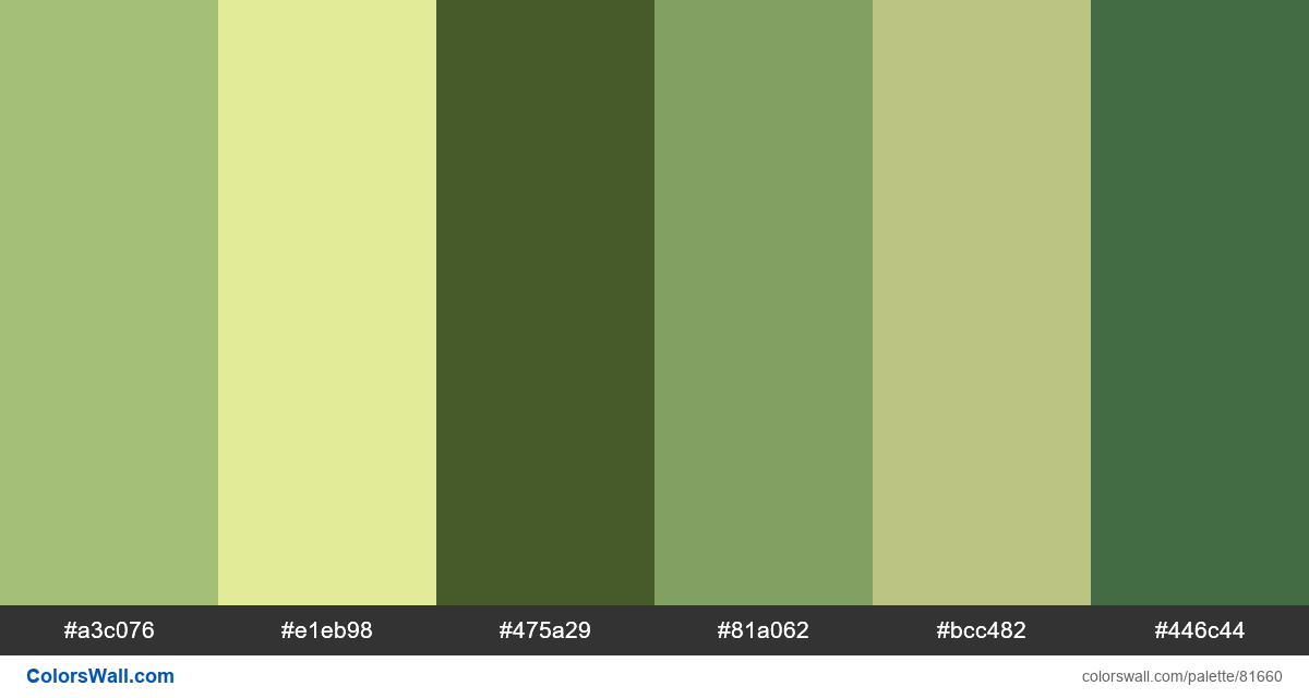 Graphic design pattern adobe illustrator green palette - #81660