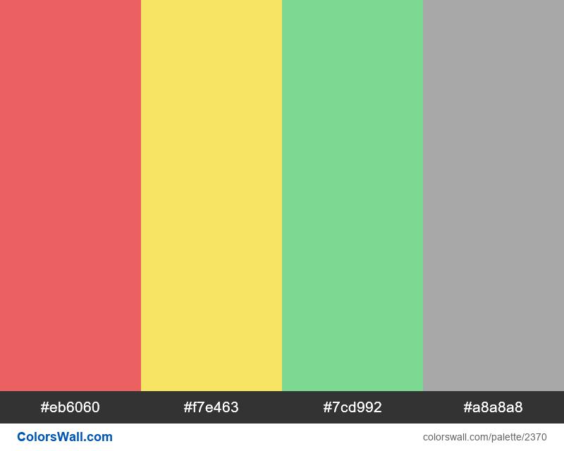 Grommet status colors palette - #2370