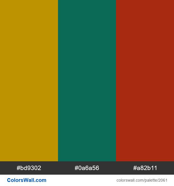 Gucci logo colors - #2061