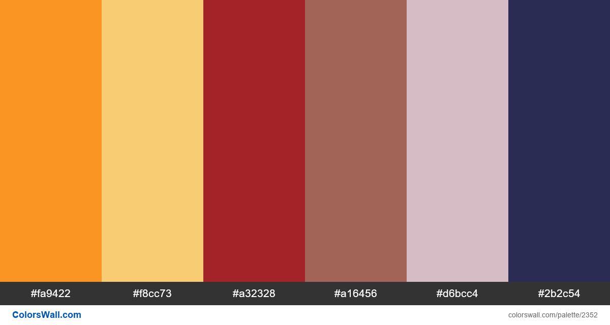 Hot autumn palette - #2352