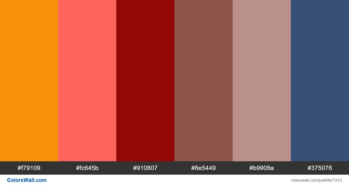 Hot device colors palette - #1312