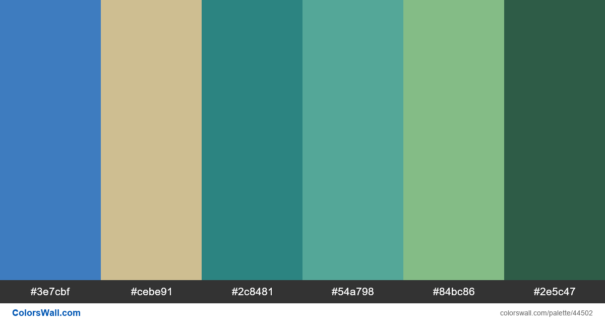 Illustration ps palette - #44502