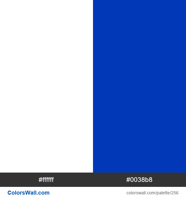 Israel flag colors - #256