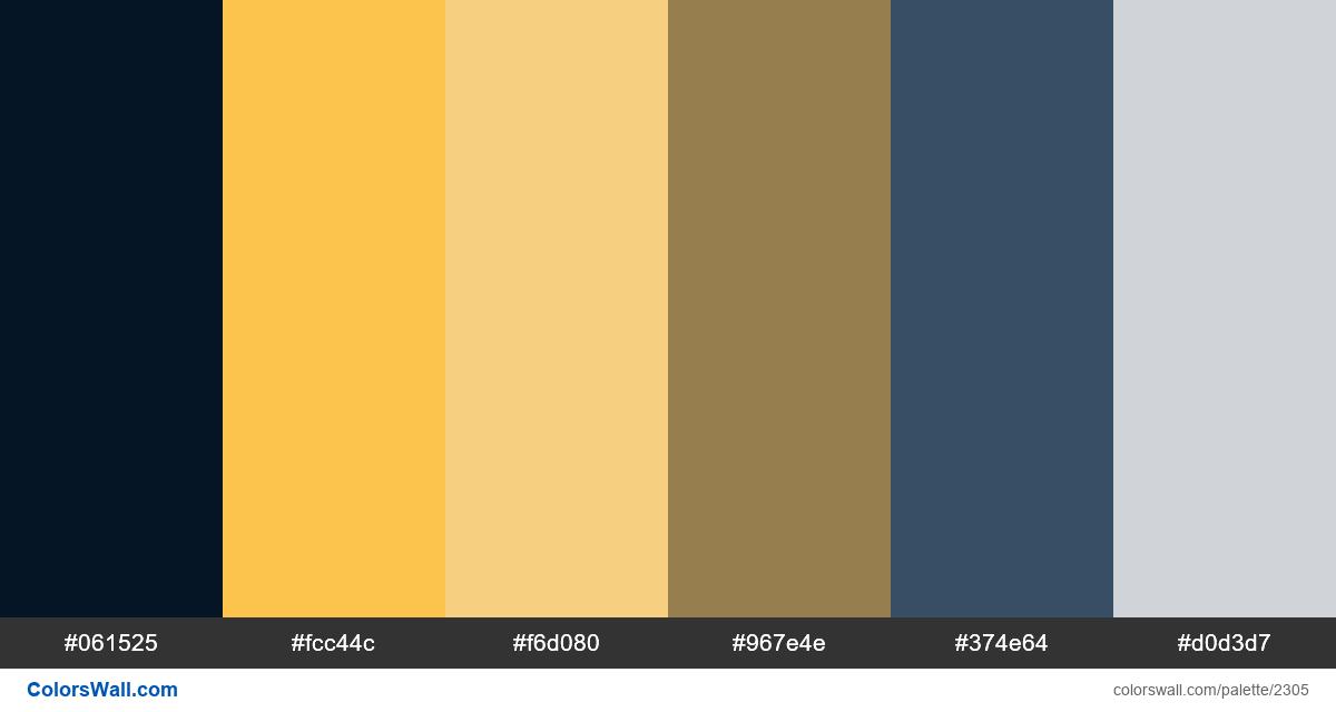 Landing page 2018 colors palette - #2305