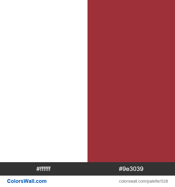 Latvia flag colors - #528
