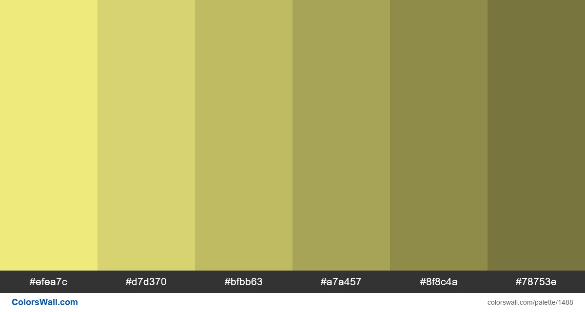 Light yellow shades - #1488