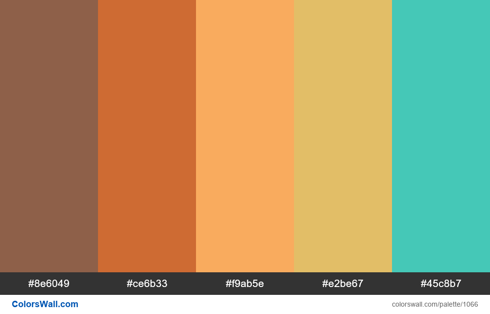 Like Beach color palette - #1066
