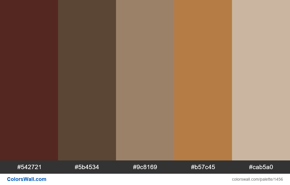 Living room colors palette - #1456