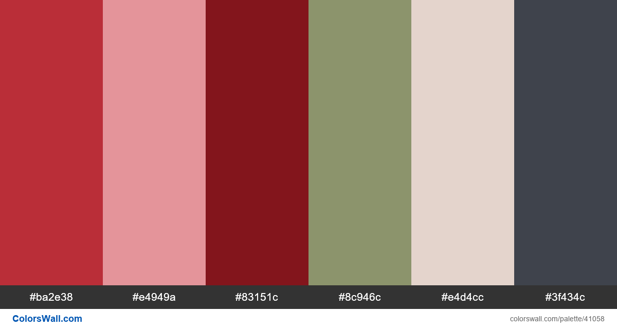 Menu design ui web desgin colors palette - #41058