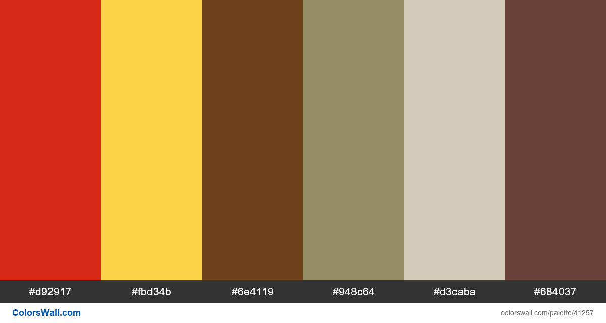 Minimal fashion home model hex colors - #41257