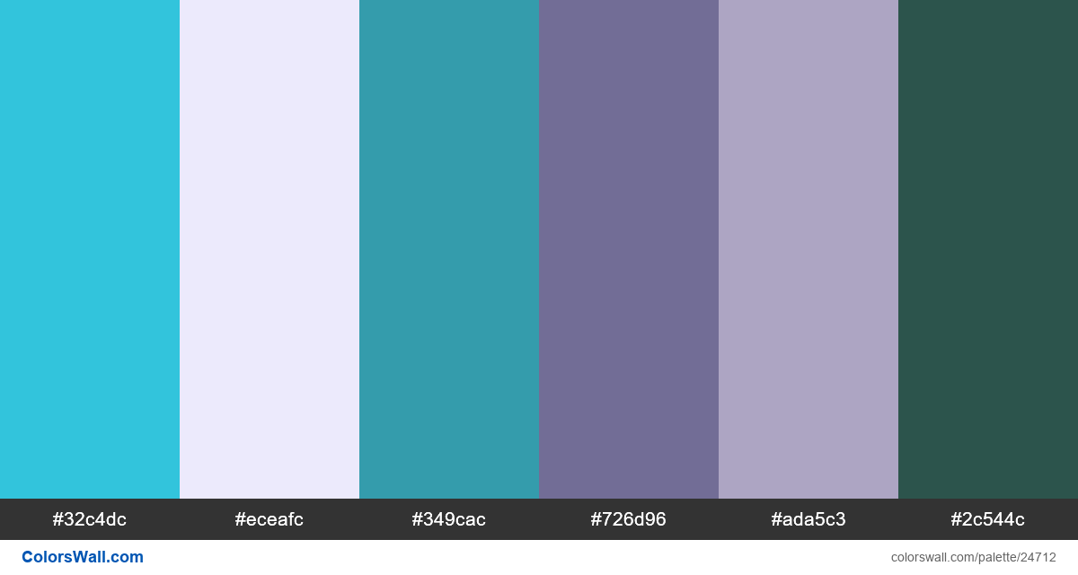 Mobile app icon line branding colors palette - #24712