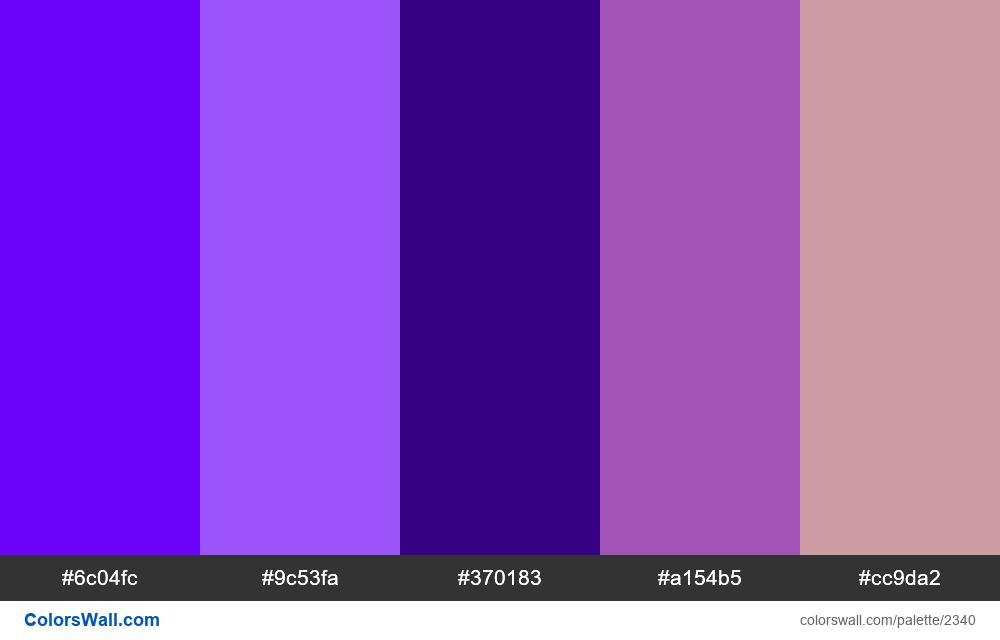 Modern app colors palette - #2340