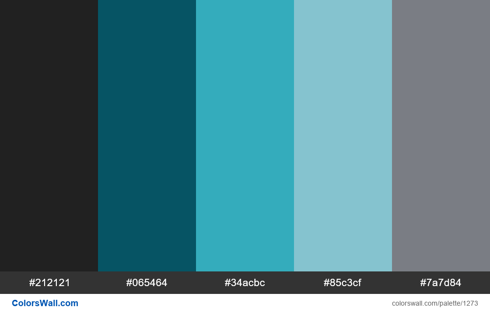 Modern App Dashboard color palette - #1273