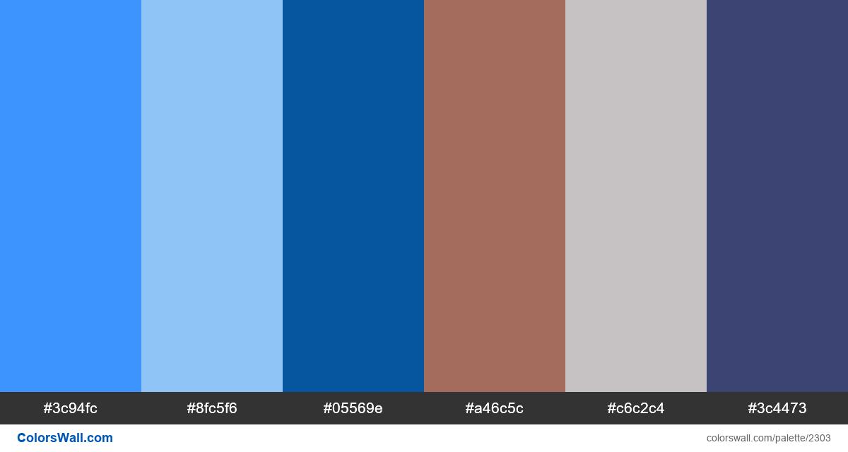 Modern landing page colors scheme - #2303
