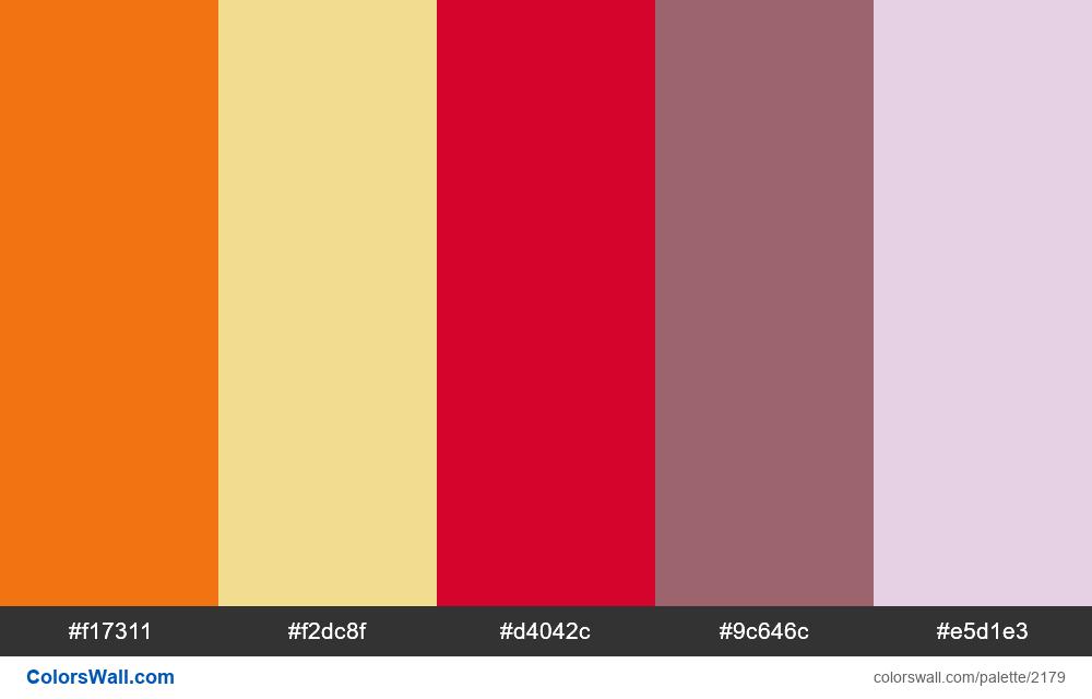 Modern palette 2018 - #2179