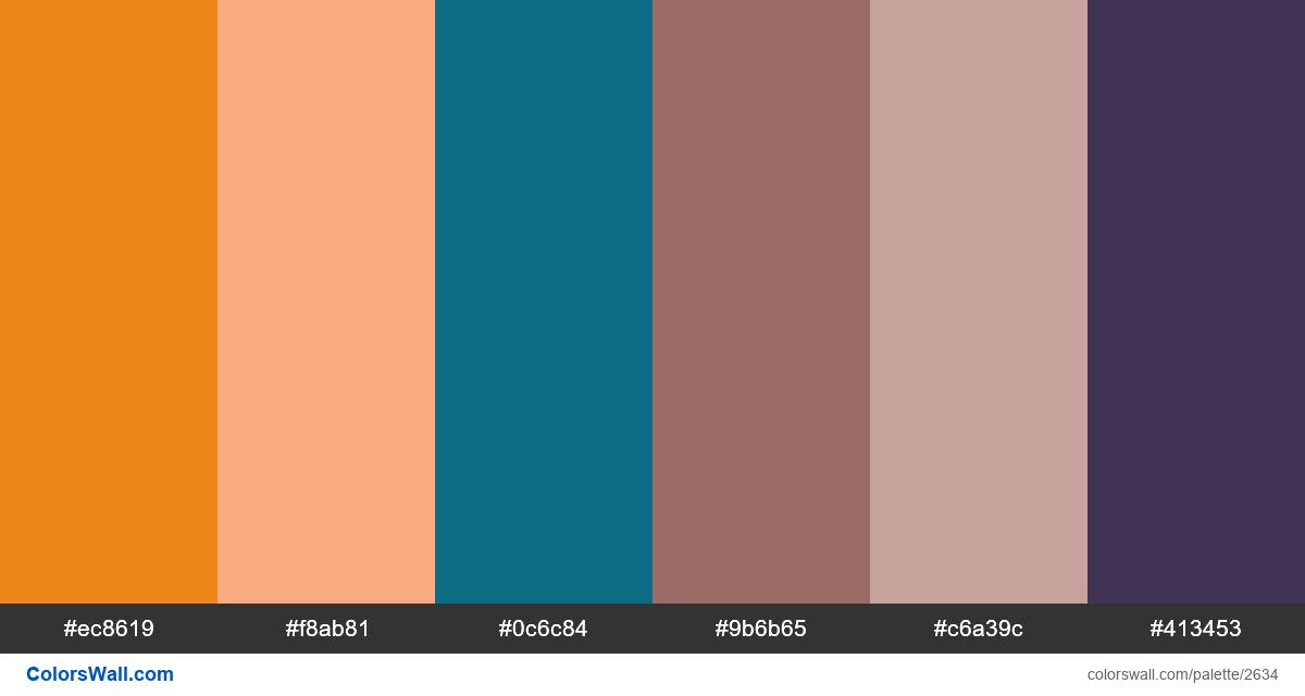 Monster colors palette - #2634
