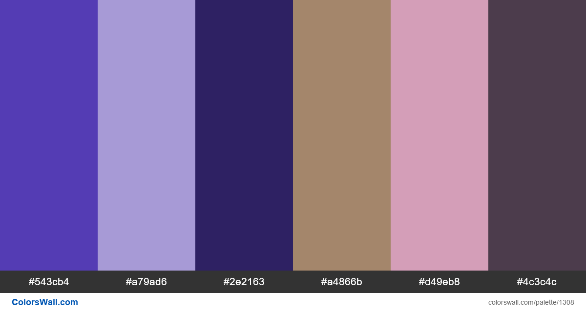 My art colors palette - #1308