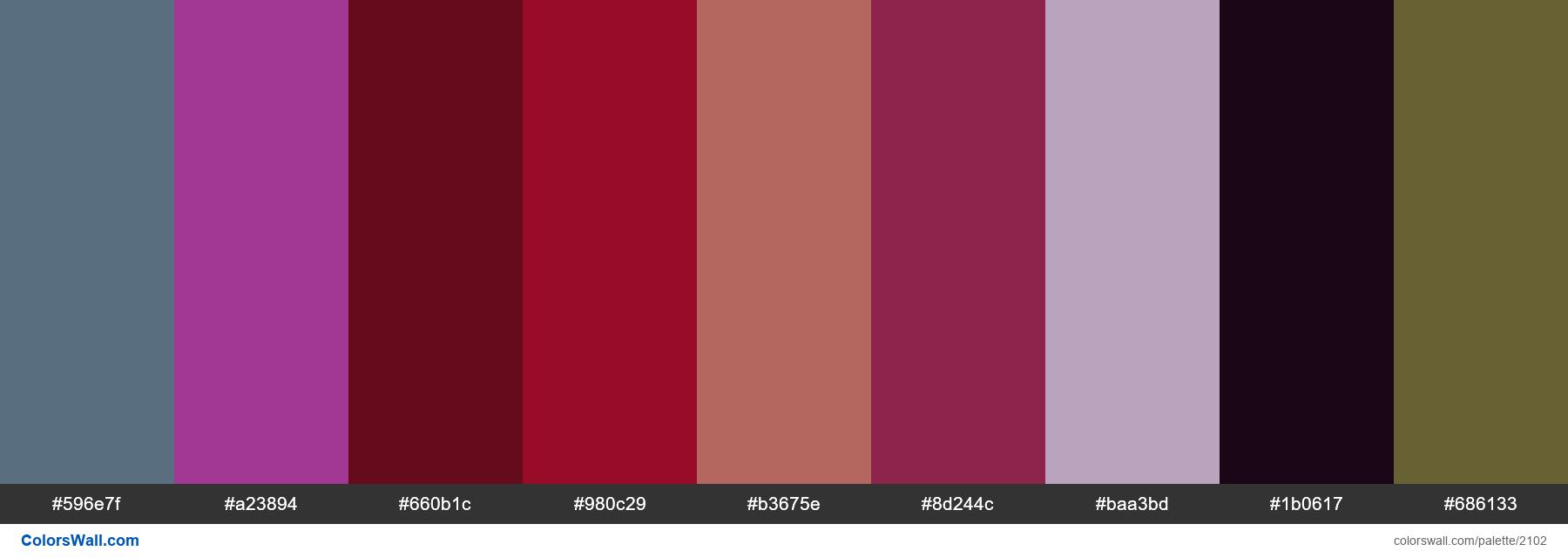 Nail colors 2018 - #2102