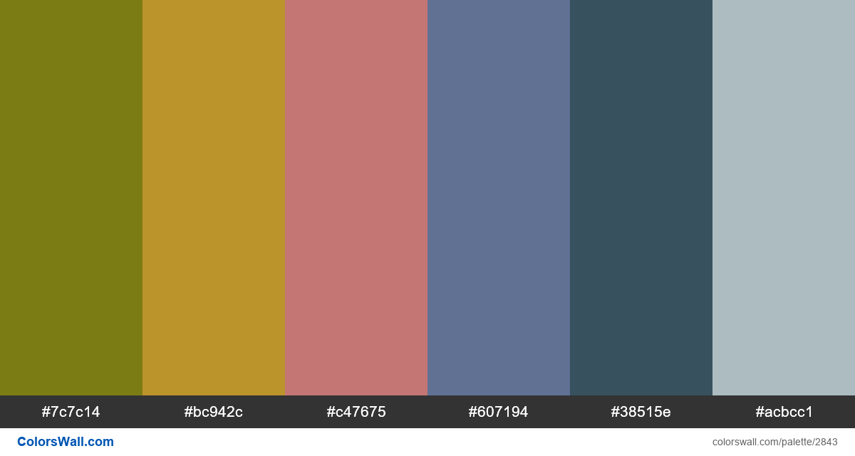 Nice day colors palette - #2843