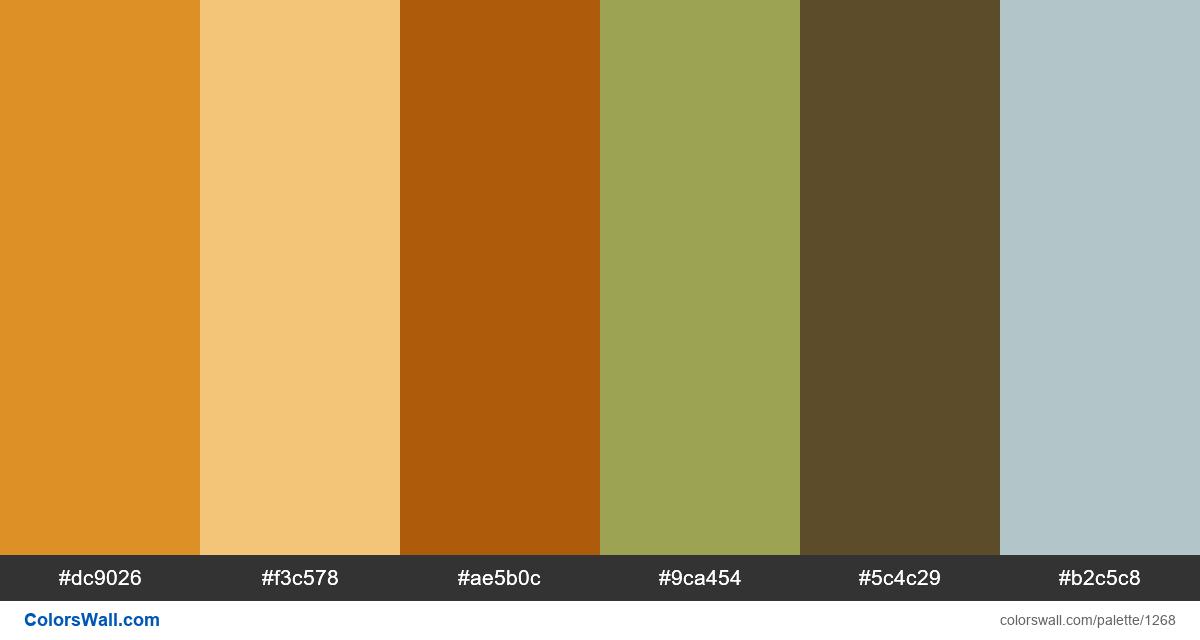 Old building sunset color palette - #1268