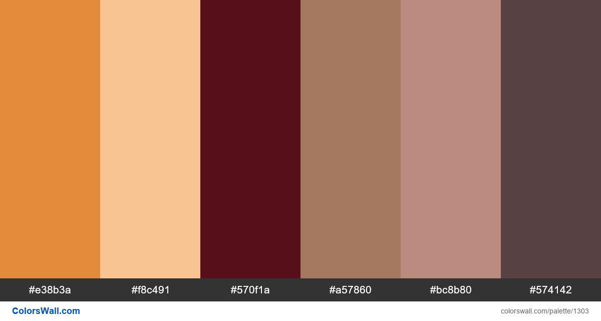 Old city colors palette - #1303