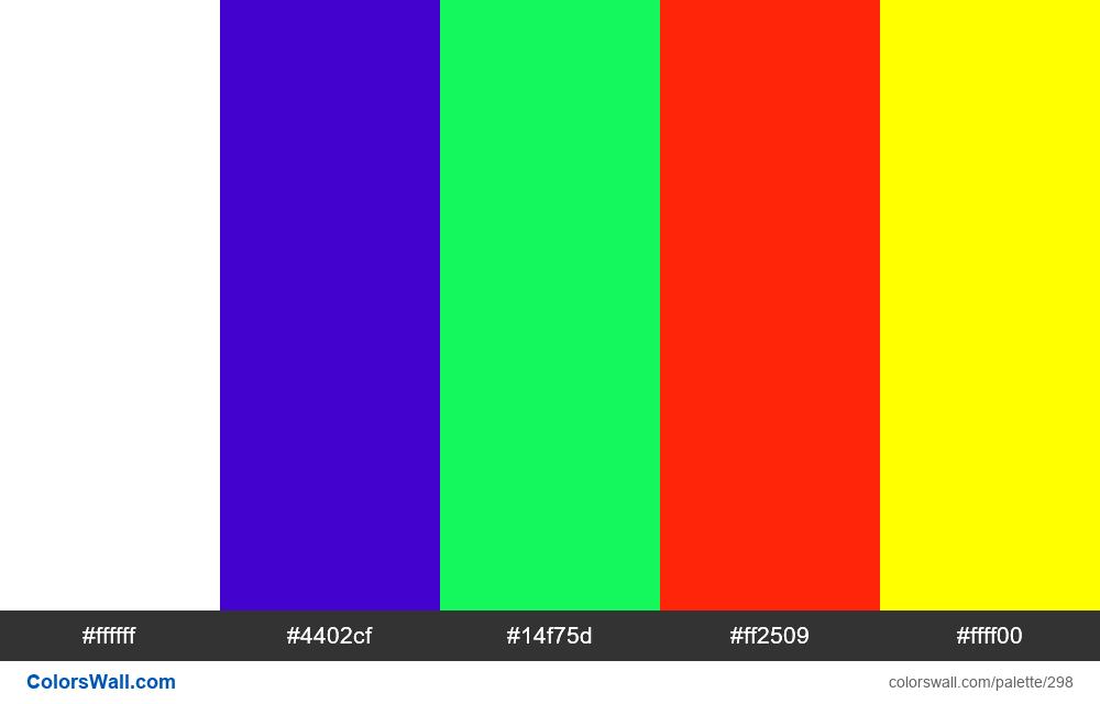 Palette 2018 #1 - #298