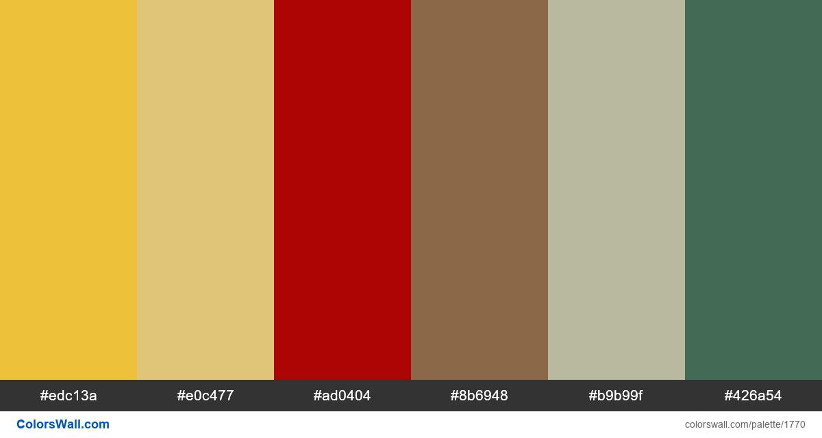 Pixel art colors palette - #1770