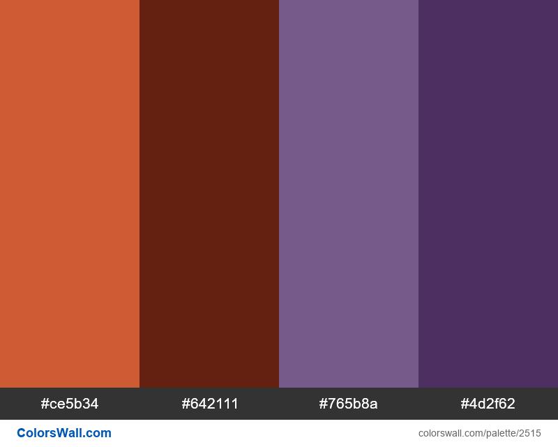 Pixel art colors palette #2 - #2515