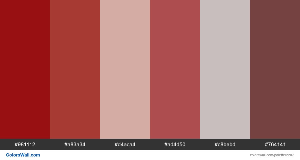 Pomade colors scheme - #2207