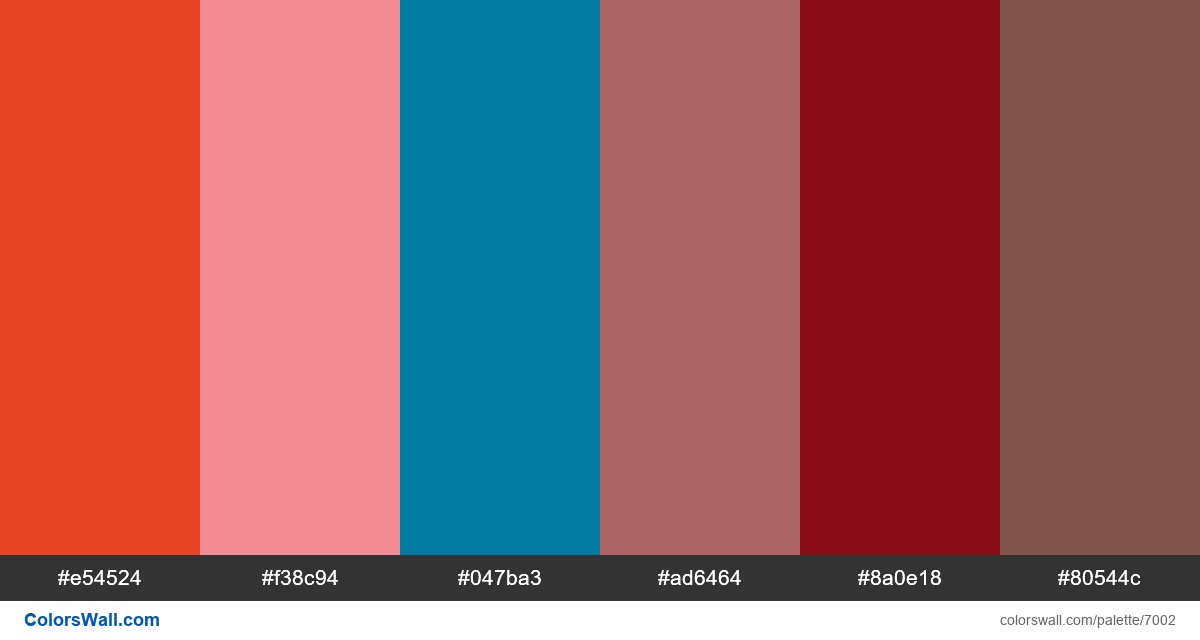Poster a day illustration hipster colors palette - #7002
