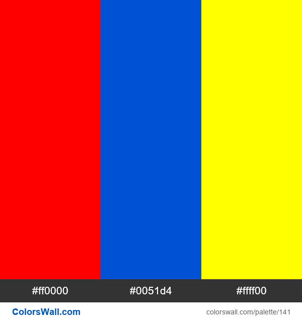 Primary colors - #141
