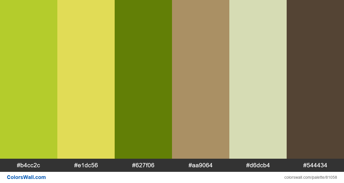 Product asparagus gradient colors palette - #81058
