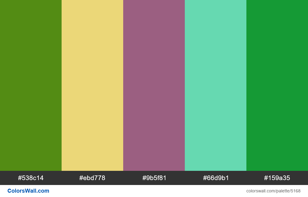 Product icons services colors palette - #5168
